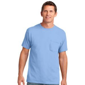 P&C Unisex 5.4oz Cotton Pocket T-Shirt Thumbnail