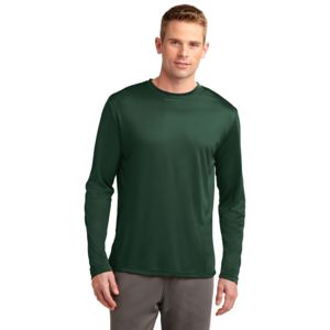 Sport Tek Unisex Poly Long Sleeve T-Shirt Thumbnail