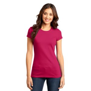 District Juniors 4.3oz Important Cotton T-Shirt Thumbnail