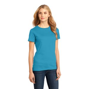 District Made Ladies Premium Cotton T-Shirt Thumbnail