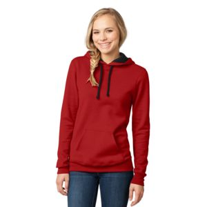 District Juniors Light Fleece Hooded Sweatshirt Thumbnail
