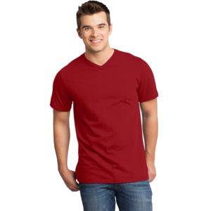 District Unisex Important Cotton V Neck T-Shirt Thumbnail