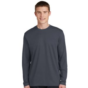 Sport Tek Unisex Racermesh Poly Long Sleeve T-Shirt Thumbnail