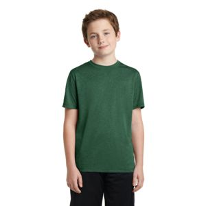 Sport Tek Youth Poly Heather T-Shirt Thumbnail