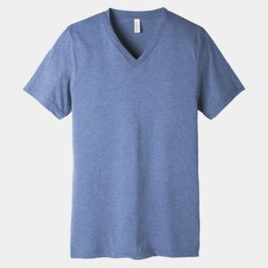 Unisex Triblend Short Sleeve V Neck Te Thumbnail